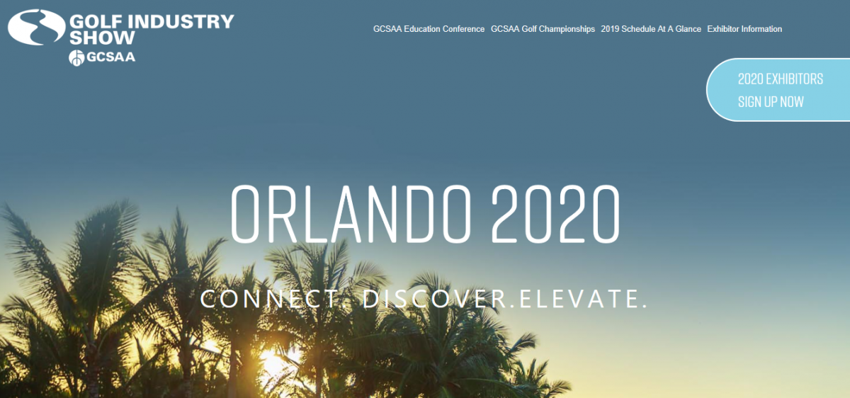 Golf Industry Show 2020.Golf Industry Show 2020 Orlando Here We Come